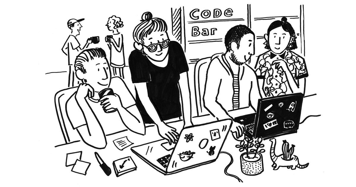 Code Bar Monthlies at Badger HQ